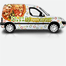 Trans Pizza-Оформление автомобиля